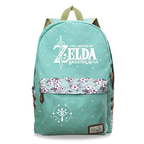 YOYOSHome Anime La leyenda de Zelda Cosplay bolso de hombro Bookbag mochila mochila escuela bolsa