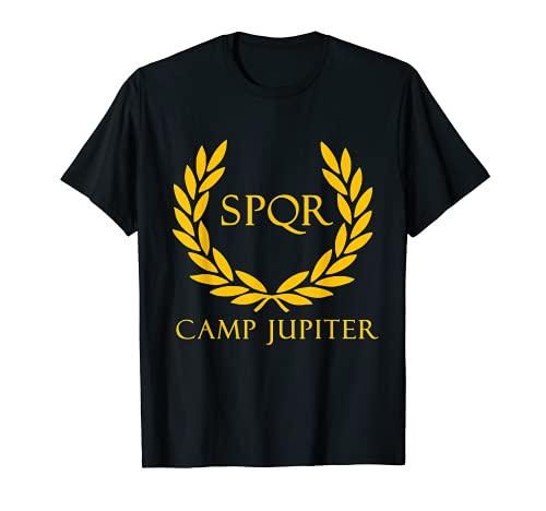 SPQR SENATUS Populus Que Romanus Camp Jupiter T-Shirt