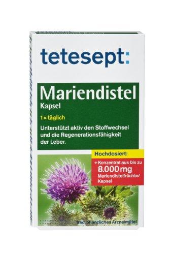 TETESEPT Mariendistel Kapseln, 24 St