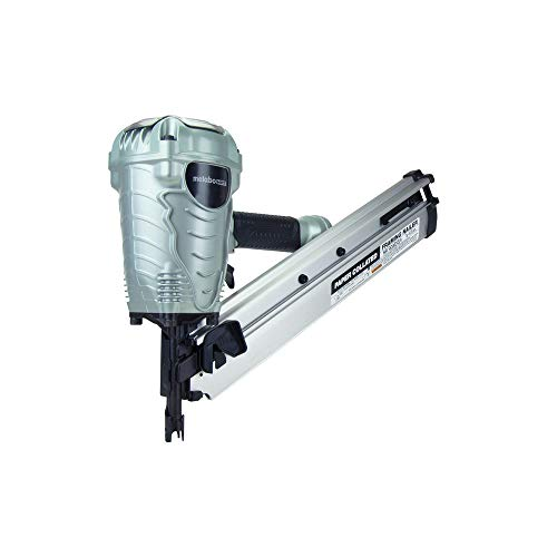 Metabo HPT Framing Nailer, 2' up to 3-1/2' Paper Collated Framing Nails, .113 - .148, 30 Degree Magazine, Pneumatic (NR90ADS1)