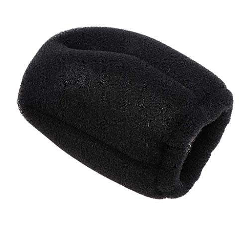 Hot Sock Diffuser Hairdressing Foldable Sponge Black Universal Hair Dryer Hot Sock Diffuser Travel Wind Blower Attachment Cover Fit All Blow Tool