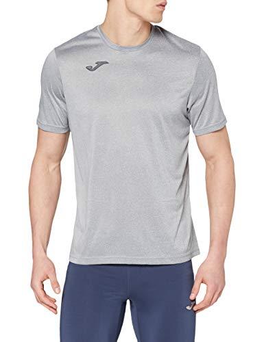 Joma Combi Camiseta Manga Corta, Hombre, Gris (Melange Claro), M