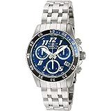Invicta Cruiseline Pro Diver Lady 40mm Stainless Steel Metallic Blue Dial Swiss Quartz Watch