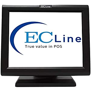 Monitor-touch-screen-led-Ec-Line-15-ec-ts-1510-tft-pos