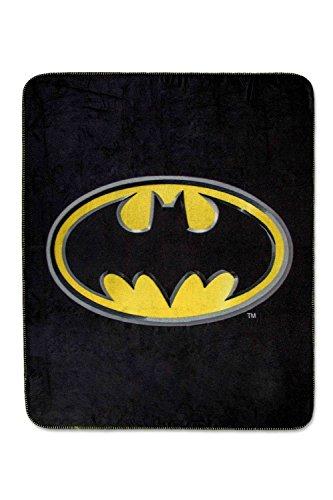 Warner Bros Batman Dark Knight Shield 'Coperta in Pile Super Plush