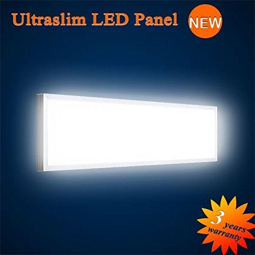 Mextronic LED Panel Deckenpanel Wandpanel Ultraslim LED Panel Warmweiß 3000LM 40W 15x90CM dimmbar