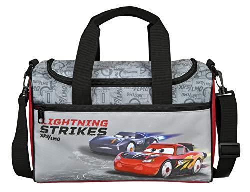 Undercover Disney Cars Sporttasche für Kinder I Sportbeutel für Sportklamotten und Schuhe I Trainingstasche mit praktischem Henkel