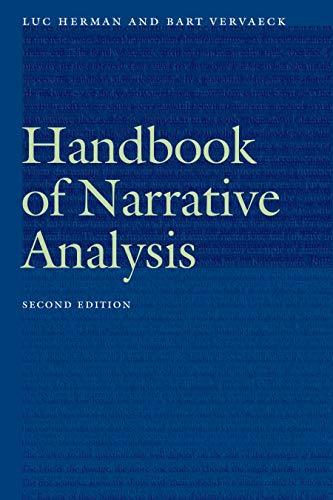 Handbook of Narrative Analysis (Frontiers of Narrative) (English Edition)