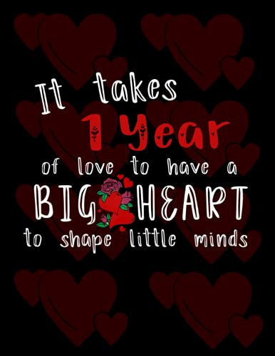 It Takes 1 Year Of Love To Have A Big Heart To Shape Little Minds: Birthday...