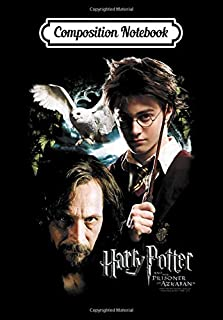 Composition Notebook: Harry Potter Harry and Sirius, Journal 6 x 9, 100 Page Blank Lined Paperback Journal/Notebook