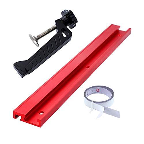 Yililay T-Track T-Slot Mitre Pista, aleación de Aluminio de 45 Tipo de Sierra de calar Recto Guía de enrutamiento Herramienta de Borde para el Bricolaje carpintería Craft