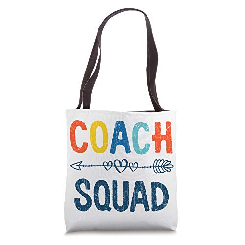 Funny Coach Squad Design For Coaching Mentor Tote Bag