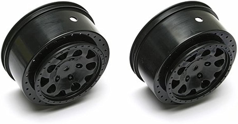 Team Associated KMC Hex Wheels Black  SC10 4x4