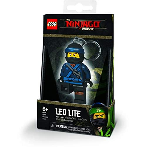 LEGO–Portachiavi Luminoso Ninjago Jay, lgke108j