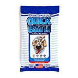 International Veterinary Sciences IVS Quick Bath Dog Towelettes, Removes Odor, Extra Thick and Heavy Duty for Small/Medium Dogs, Made in the USA, 10 Count Pack