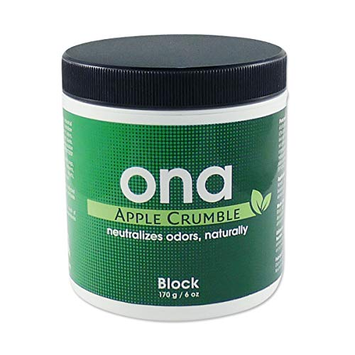 ONA Natural Odor Neutralizer Block Apple Crumble 6oz
