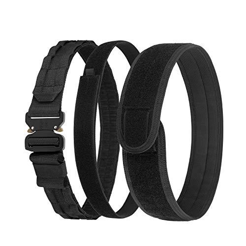 Tactical Belt, VISMIX Quick Release 1.75  MOLLE Battle Belt with Inner Belt and Anti-Slip Pad- Heavy Duty Rigger Belts