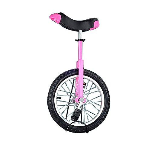 SENQI自転車 一輪車 子供用 スタンド付属 16インチ ピンク