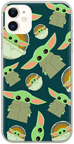 ERT GROUP Original Star Wars Handyhülle Baby Yoda 006 iPhone 11 Phone Hülle Cover, Mehrfarbig, SWPCBYODA1525