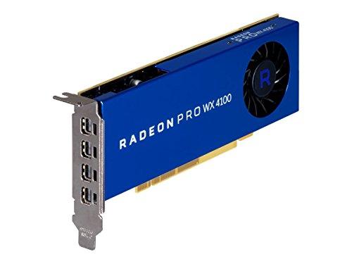 AMD RADEON PRO WX 4100 4GB GDDR5 - graphics cards (4 GB, GDDR5, 128 bit, 5120 x 2880 pixels)