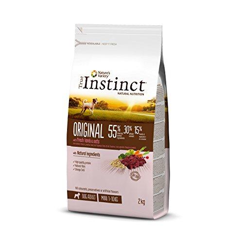 True Instinct Original - Pienso para Perros Mini Adultos con Cordero - 2kg ✅