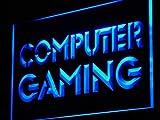 ADV PRO Enseigne Lumineuse i865-b Computer Gaming Internet Cafe Shop...