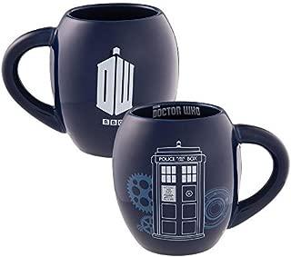 Doctor Who 18 Oz. Oval Ceramic Mug 16062, Blue