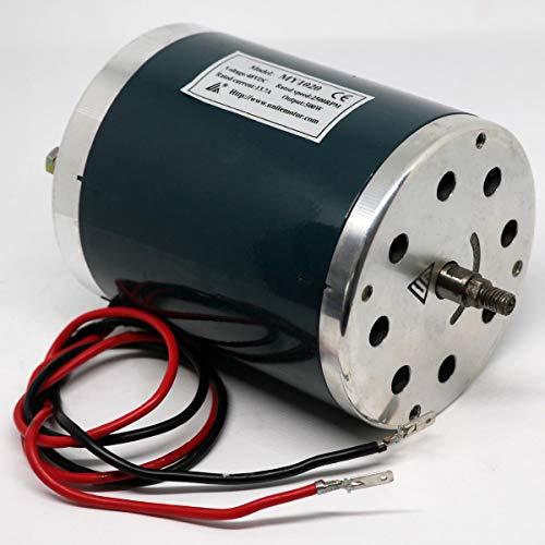 Rolektro 48V 13,7A Bürstenmotor für Elektroroller 500W 2500RPM Elektromotor E-Scooter Ersatzmotor BT125 BT150