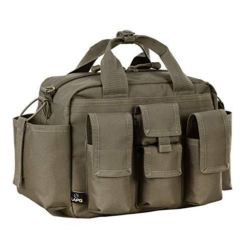 LA Police Gear Tactical Mil-Spec 600 Denier Nylon EDU Operator Diaper Bag - OD Green
