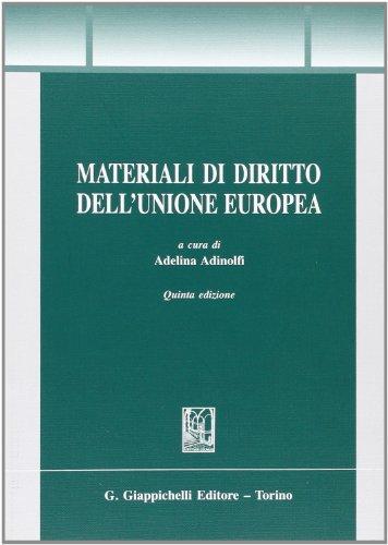 Materiali di diritto dell'Unione Europea