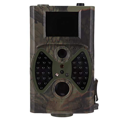 Xegood Wildkamera Fotofalle 12MP 1080P,IP66 Wasserdichtes Design mit 120 ° Überwachungswinkel Bewegungserkennung in der Nacht mit Infrarot-Aufnahme Camouflage 4#