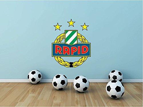 SK Rapid Wien FC Austria Soccer Football Sport Home Decor Art Wall Vinyl Sticker 63 x 50 cm