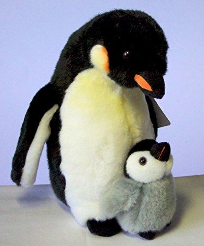 Pinguin mit Baby 28 cm Kuscheltier, Plüschtier