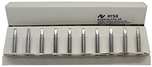 ersa soldering tip ERSADUR 0102CDLF32, lead-free, 3.2mm chisel shaped (10)