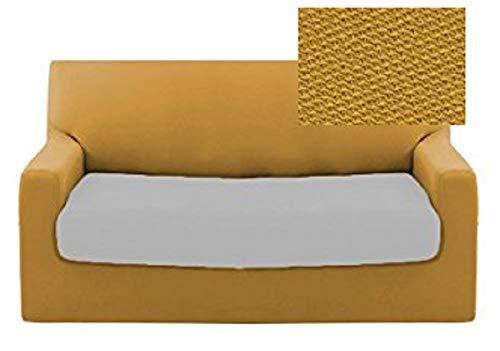 Biancaluna - Funda para sofá de 2 plazas Genius 140 a 180 cm R455 Senape