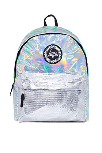 Hype Dreamland Holographic Rucksack (Silber)
