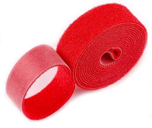 DDSP - Cinta adhesiva reutilizable de 2 metros para sujetar cables con...