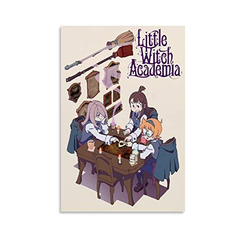 """BVNGF - Poster da parete con scritta """"Little Witch Academia Anime"""" (20 x 30 cm)"""