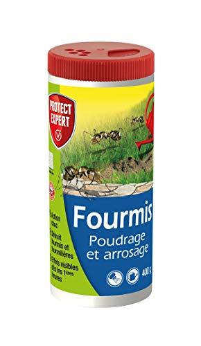 PROTECT EXPERT FOURPOUD400 Poudrage Et Arrosage 400g Lutte Contre Les Fourmis,