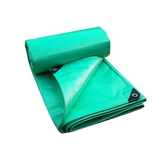 YUJIE groen dekzeil zonwering zeil ultralight dekzeil kunststof lampenkap 0,4 mm, 220 g / M2, 14 grootte-opties