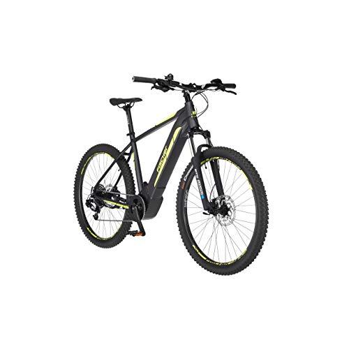 FISCHER E-Mountainbike MONTIS 5.0i Limited Edition, E-Bike MTB, schiefergrau matt, 27,5 Zoll, RH 48 cm, Brose Drive C Mittelmotor 50 Nm, 36 V Akku im Rahmen