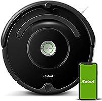 iRobot - Robot aspirador Roomba 671 conectado a WIFI, Para alfombras y suelos, Tecnología Dirt Detect, Sistema limpieza...