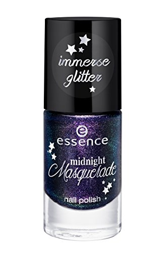 Essence midnight Masquerade Nail Polish Nr. 01 Meet Me Midnight Inhalt: 8ml Nagellack mit immense glitter Nail Polish