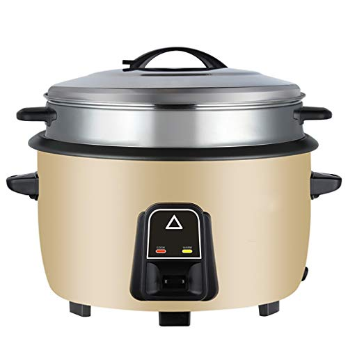 Fantastic Deal! Rice Cooker Rice Cooker with Stainless Steel Steamer Basket,Large-capacity Steamer f...