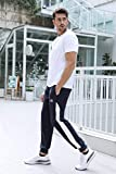 Zoom IMG-2 sykooria pantaloni sportivi da uomo