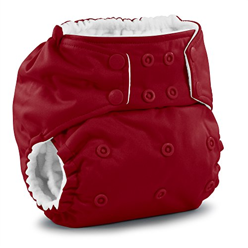 Rumparooz One Size Cloth Pocket Diaper Snap, Scarlet