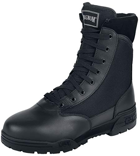 Magnum - Essential Equipment Classic Unisex Boot schwarz EU40 Leder, Nylon Basics, Festival