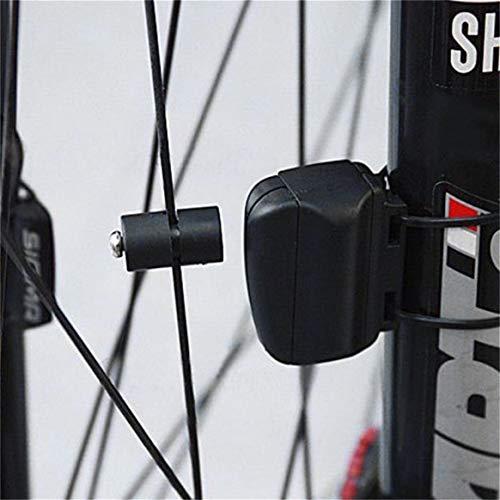 Fahrradcomputer Delicacydex Wasserdichtes drahtloses Plastikfahrrad, Das Sport-Fahrrad-Computer-Geschwindigkeitsmesser-Kilometerzähler mit LCD-Anzeige radfährt - 4
