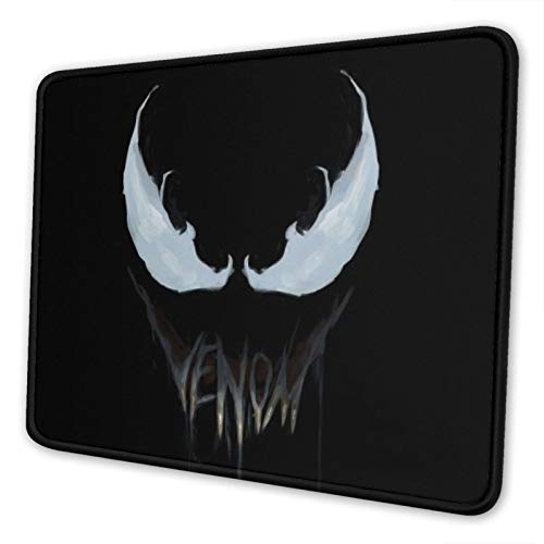 Cool Venom Mouse Pad Non-Slip Waterproof Foldable Rubber Base Gaming Mouse Pad for Desktop Computers Laptop Office Home & More Mouse Pads 10x12 in