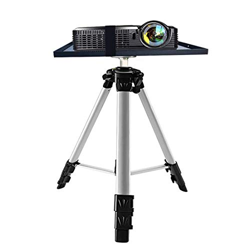 N \ A Pro DJ Laptop Projector Stand, Portable Laptop Stand Equipment Stand, Folding Floor Tripod Stand,Good for Stage or Studio, Height Adjustable 53-136cm